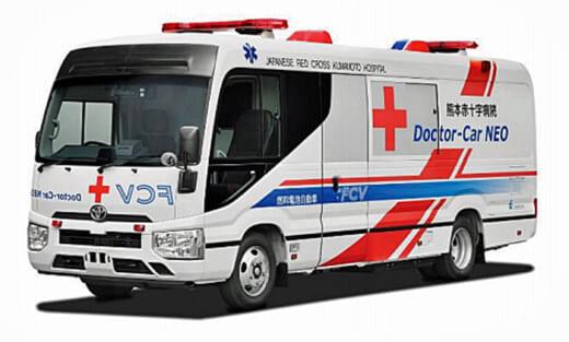 20210331konoike21 520x313 - 鴻池運輸/トヨタ、熊本赤十字の燃料電池医療車実証実験に協力