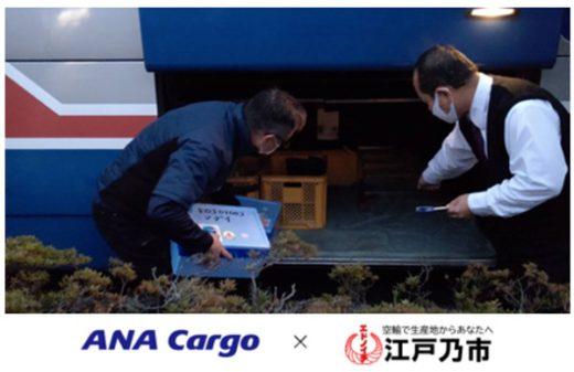 325anacargo2 520x337 - ANA Cargo/生産者支援事業でサードコンパスと業務提携