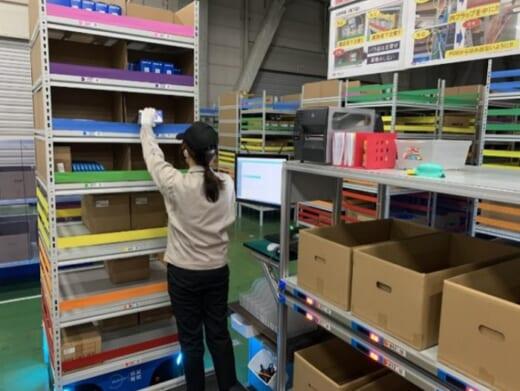 20210401sbstoshiba 520x391 - SBS東芝ロジ/北関東支店に棚搬送ロボットシステム導入