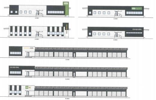 20210402coop 520x335 - コープぐんま/群馬県藤岡市に3温度帯配送センター建設