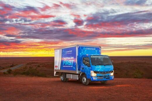 20210408mitsubishifuso 520x346 - 三菱ふそう/「eCanter」をオーストラリア市場に投入