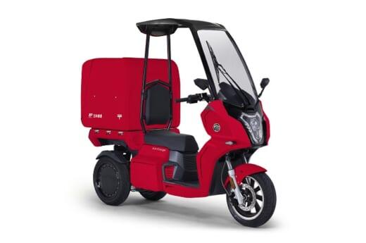 20210409aidea1 520x345 - 日本郵便/首都圏8郵便局にaidea社の電動3輪バイク導入