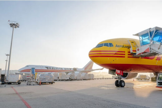 20210412dhl 520x347 - DHLエクスプレス/アジア太平洋地域の航空ネットワーク拡充