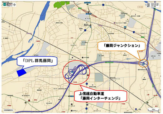 20210413daiwa3 520x365 - 大和ハウス/群馬県藤岡市に2.3万m2のマルチ型物流施設着工