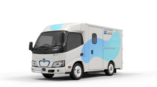 20210415hino1 520x290 - 日野自動車/物流現場に適した小型EVトラックを開発