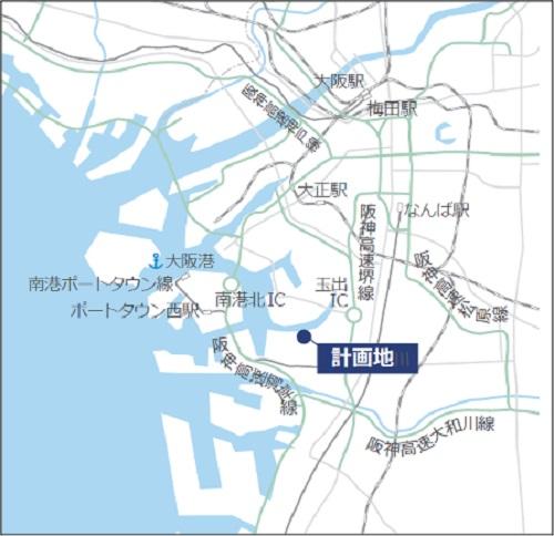 20210416lasalle2 - ラサール/大阪市住之江区に5万m2規模の物流施設建設