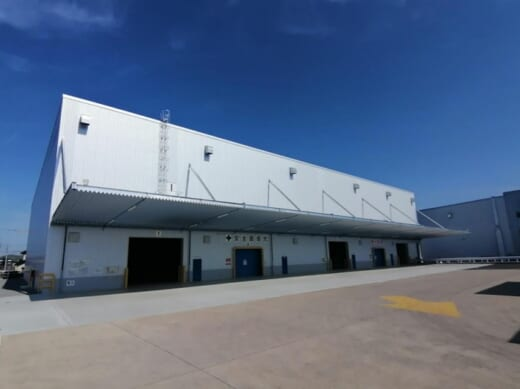 20210416nikkon 520x389 - 日本梱包運輸倉庫/岡山・長船営業所で7号倉庫竣工