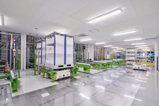 20210420hitachi2 520x347 - 日立製作所/医療材料物流拠点向けに自動化ソリューション納入