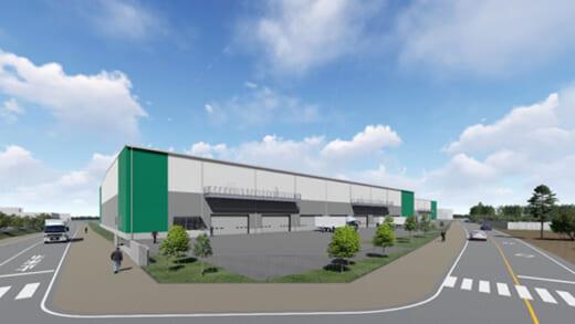 20210423glr1 520x293 - GLR/茨城県常総市に2.37万m2の物流施設開発で土地取得
