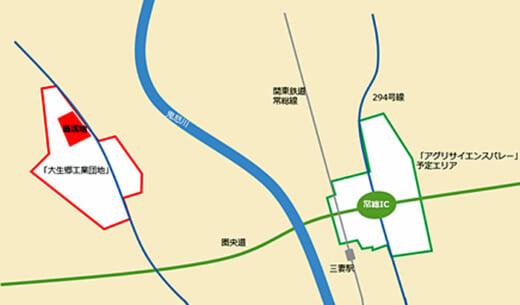 20210423glr2 520x305 - GLR/茨城県常総市に2.37万m2の物流施設開発で土地取得