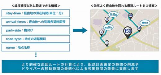 20210426navitime 520x242 - ナビタイム/多地点巡回ルート検索を配送業向け提供開始
