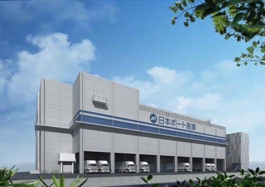20210427kamigumi 520x368 - 上組/子会社が神戸市東灘区の冷蔵倉庫建て替え