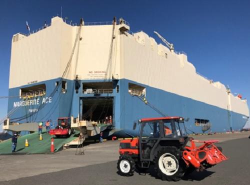 20210427mol1 - 商船三井/新会社設立、越境ECでアフリカへ中古農機輸出事業開始