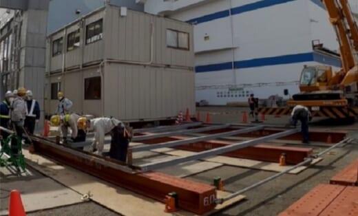20210428tokyu1 520x314 - 東急建設/物流倉庫外壁の施工性高める新工法開発