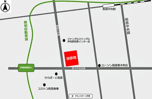 20210430glr2 520x339 - GLR/大阪府和泉市に5.2万m2用地取得、10万m2の物流施設開発