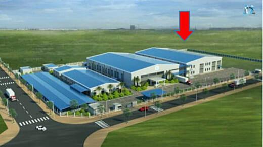 20210430sumida 520x290 - スミダ/ベトナム・クアンガイ省に電子部品の工場増築