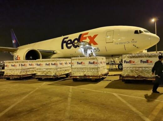 20210506fedex 520x387 - フェデックス/インドに新型コロナ対策の医療品輸送