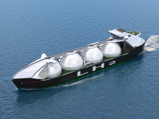 20210506kawasaki 520x390 - 川崎重工/液化水素運搬船向けに世界最大容積のタンク開発