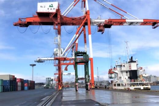20210507suzuyo1 520x347 - 鈴与/海上コンテナサービス、新港「八戸港」定期就航開始