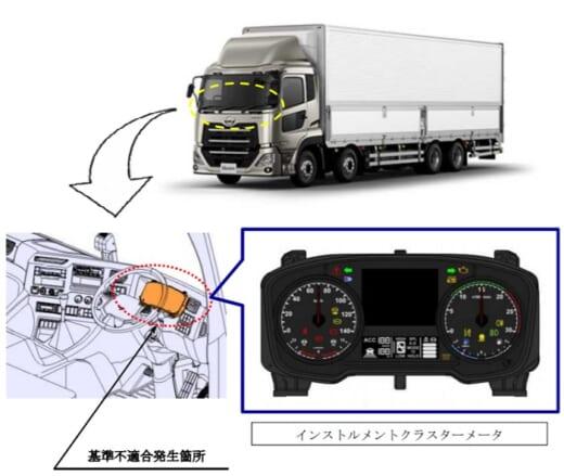 20210507ud 520x439 - UDトラックス/クオン686台をリコール