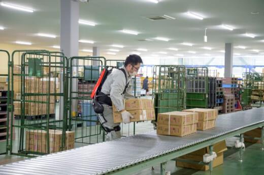 20210511gbs1 520x346 - GBS/青森県八戸市の共同物流センターにパワースーツを導入