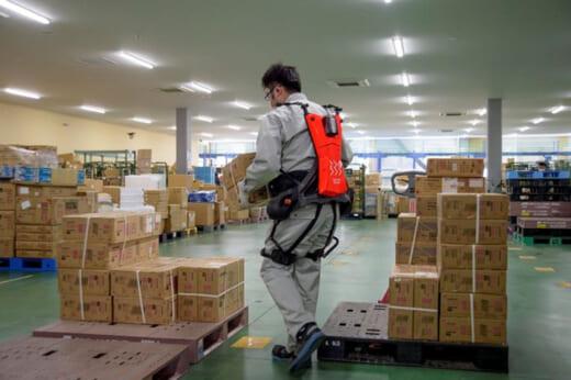 20210511gbs2 520x346 - GBS/青森県八戸市の共同物流センターにパワースーツを導入