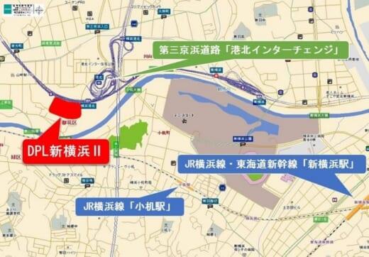 20210513daiwa1 520x362 - 大和ハウス/横浜市都筑区で9.9万m2物流施設着工