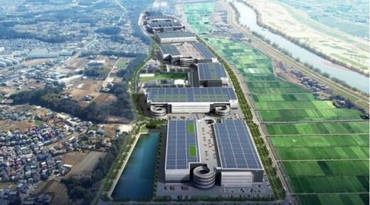 20210513glp1 520x288 - 日本GLP/千葉県流山市で三井食品入居の物流施設着工