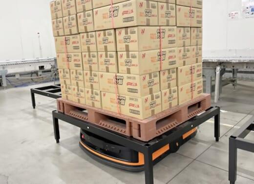 20210513nichirei 520x378 - ニチレイロジ/仙台物流センターにパレット搬送型AGV導入