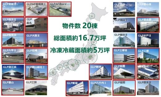 20210514glp1 520x313 - 日本GLP/冷凍冷蔵物流施設の賃貸面積、年11%ペースで増加