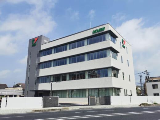 20210514okaken 520x390 - 岡山県貨物運送/4階建ての本社新社屋完成