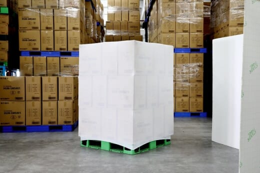 20210517midori 520x346 - ミドリ安全/繰り返し使える荷崩れ防止カバー発売