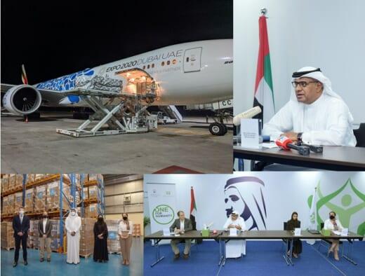 20210521ek 520x394 - エミレーツ航空/インドへコロナ救援物資の人道的輸送ルート開設