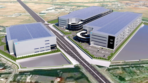 20210524cre1 520x293 - CRE/埼玉県ふじみ野市に3棟計27.3万m2の物流施設開発着手