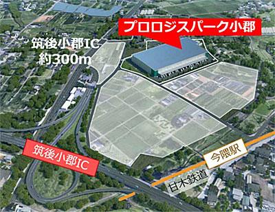 20210525prologis3 - プロロジス/福岡県小郡市で福岡ロジテム専用物流施設を起工