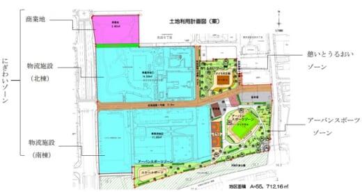 20210531glp1 520x276 - 日本GLP/大阪市東住吉区で街づくり型物流施設開発事業