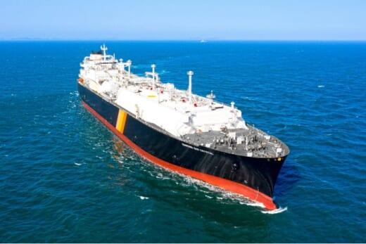 20210601nyk 520x347 - 日本郵船/三菱商事向けLNG運搬船が竣工