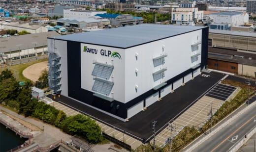 20210602glp 1 520x310 - 日本GLP/関通専用で兵庫県尼崎市に1.7万m2の物流施設竣工