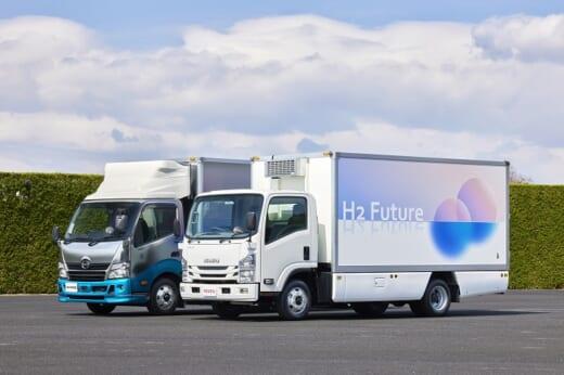 20210604fukushima1 520x346 - トヨタなど/福島県でスーパー等の配送にFCトラック導入