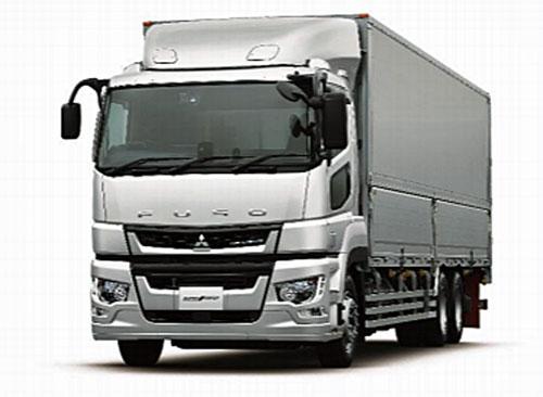 20210604fuso1 - 三菱ふそう/先進運転支援システム搭載の大型トラック発売