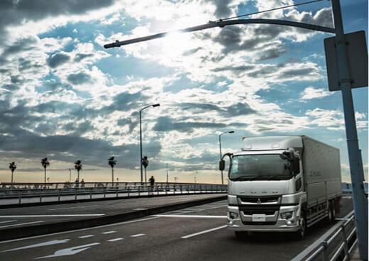 20210604fuso2 520x368 - 三菱ふそう/先進運転支援システム搭載の大型トラック発売