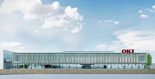 20210607oki 520x267 - OKI/埼玉県本庄市にDXを実現するスマート工場着工