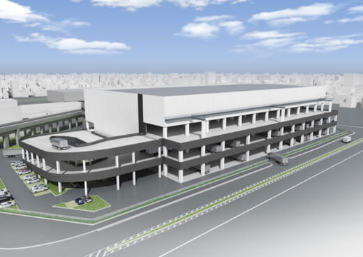 20210608higashi1 520x368 - ヒガシ21/大阪府茨木市に約2万m2の物流施設2023年4月開設