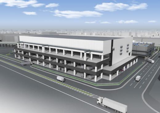 20210608higashi2 520x368 - ヒガシ21/大阪府茨木市に約2万m2の物流施設2023年4月開設