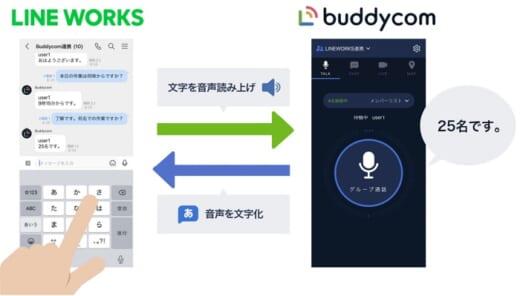 20210609lineworks 520x296 - サイエンスアーツ/BuddycomがLINE WORKSと連携開始