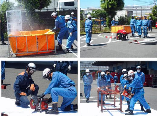 20210610daiwac2 520x386 - ダイワコーポ/地元消防団の災害対応訓練場所に同社施設を提供