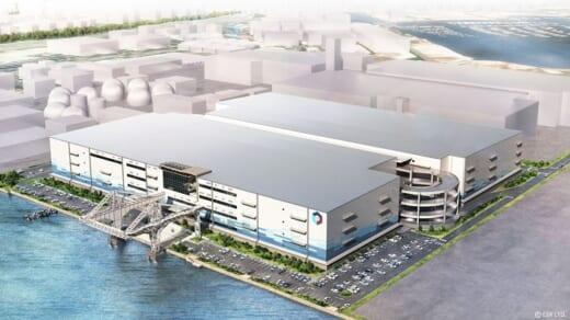 20210614esr1 520x292 - ESR/横浜市金沢区に19.5万m2物流施設、産業遺産をアイコンに