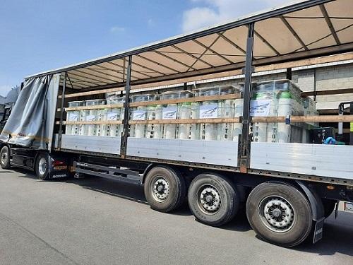 20210614nyk - 日本郵船/インドへ医療用酸素シリンダー988本無償提供