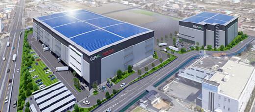 20210615glp 520x229 - 日本GLP/大阪府八尾市で物流施設2棟開発、1棟は楽天専用施設