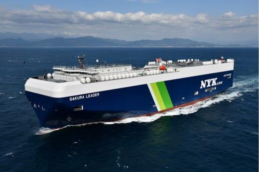 20210615nyk 520x346 - 日本郵船/LNG燃料自動車専用船12隻を連続建造